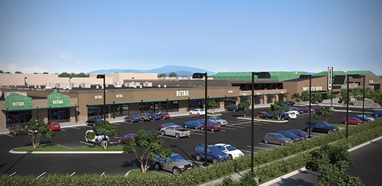digital rendering on the new Trinity Center in Helena, MT